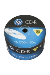 HP CD-R 700MB 52x 50pk