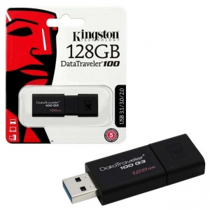 Kingston 128GB USB3 DT100G3/128GB