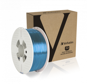 Verbatim PET-G Filament 1.75 mm 1kg - Transparent Blue
