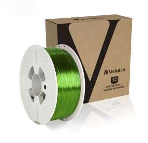 Verbatim PET-G Filament 1.75 mm 1kg - Transparent Green