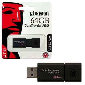 Kingston 64GB USB3 DT100G3/64GB