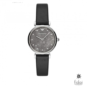 Emporio Armani For Women Black with Crystals
