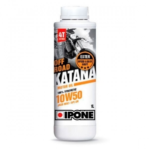 Շարժիչի յուղ - IPONE  OFF ROAD KATANA 10W50 - 1L