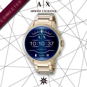 Armani Exchange Smart Watch Gold