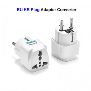 X-WORLD KR to EU plug Adapter